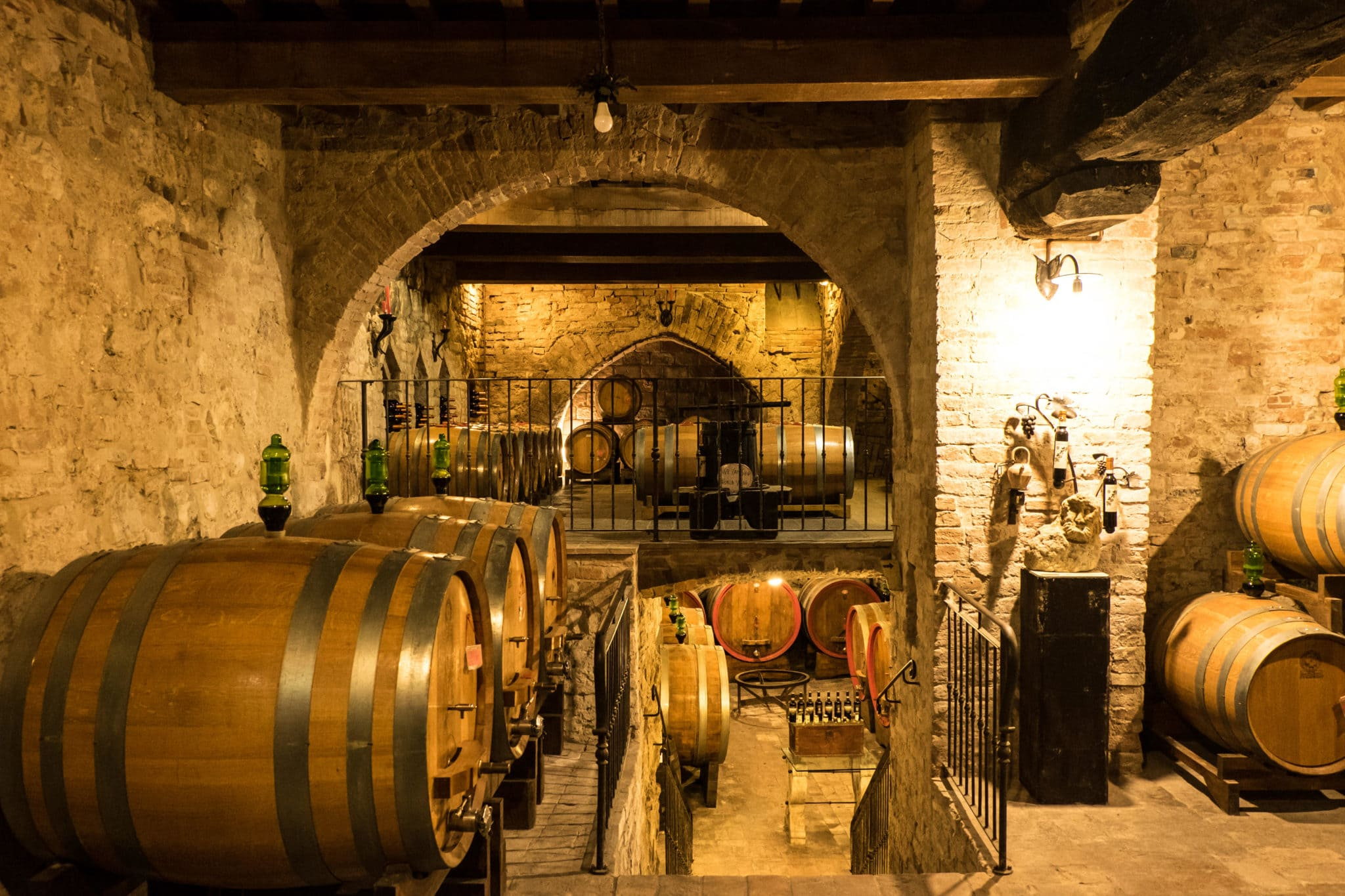 Montepulciano cellar wine tours in Tuscany