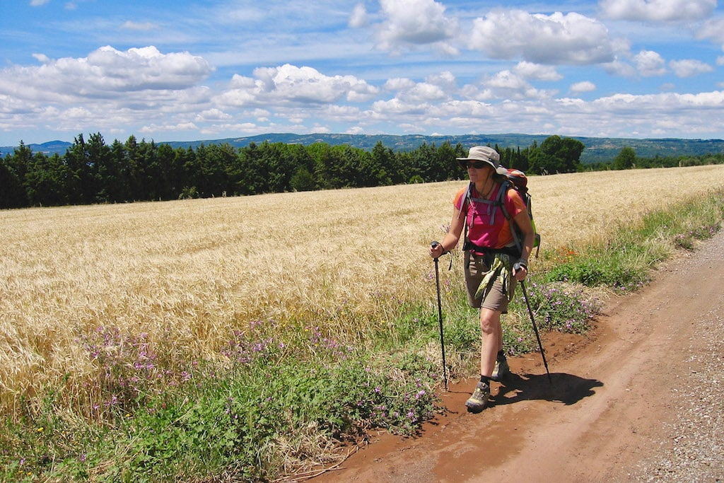 Chandi Wyant walking the Via_Francigena