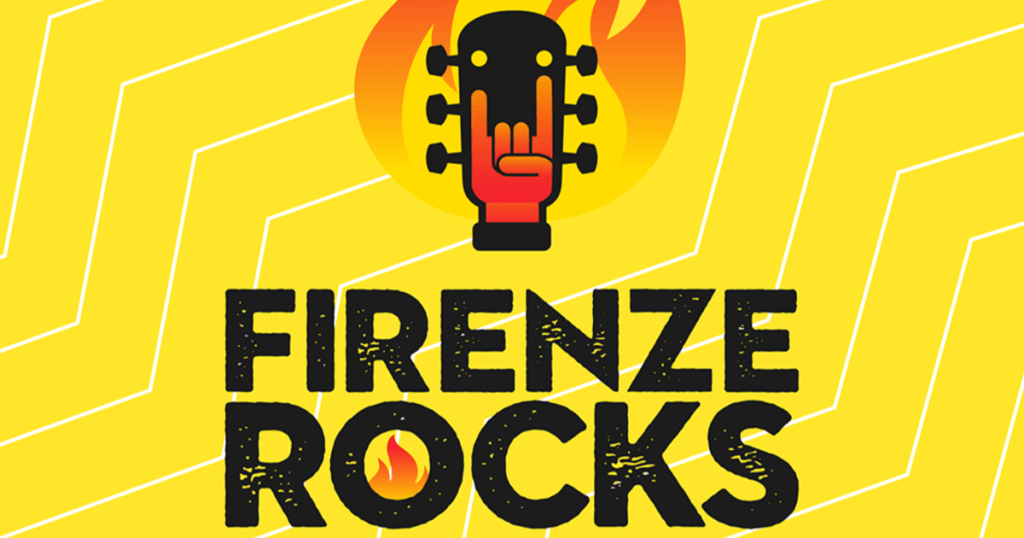 Firenze Rocks 2020 cover