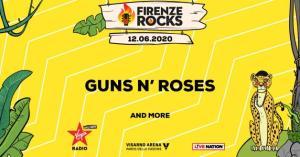 guns n'roses Firenze rocks_12_june_2020