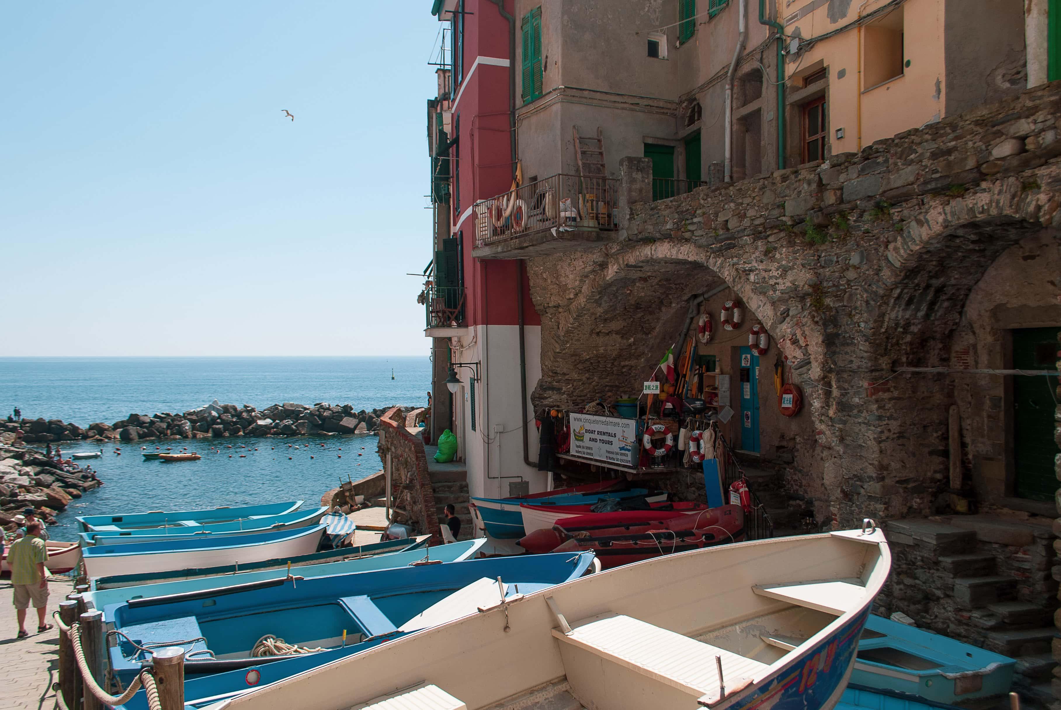 From Florence to Cinque Terre, Riomaggiore