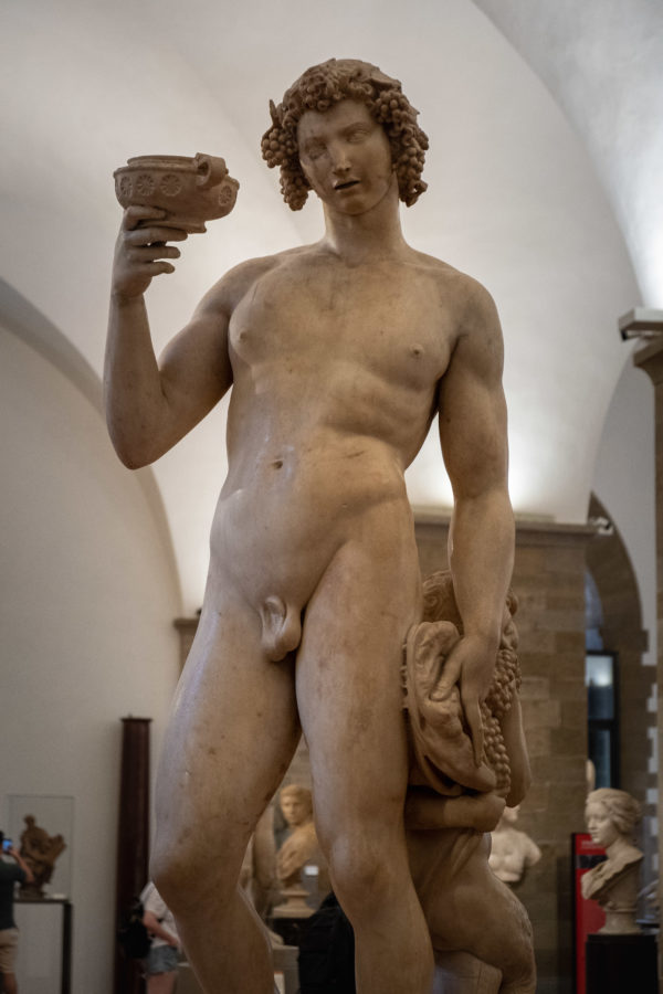 Bacchus Michelangelo at Bargello Museum