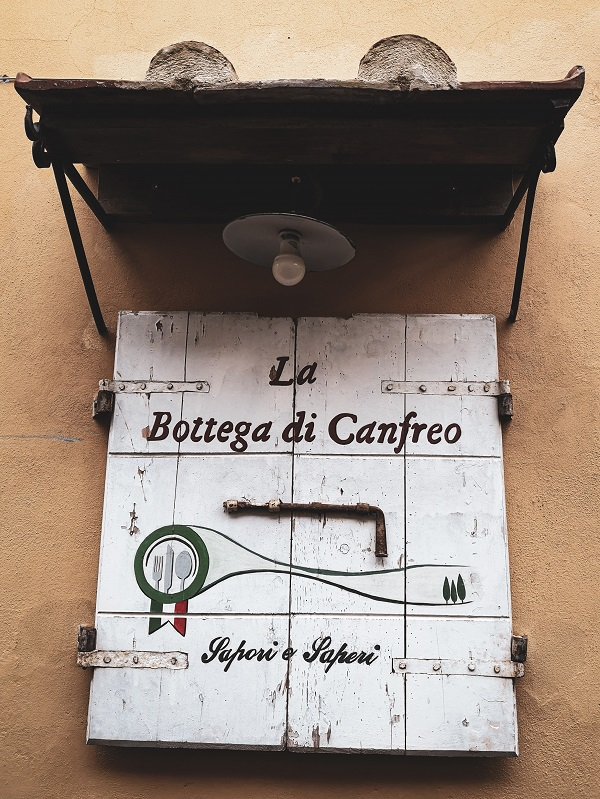Bottega di Canfreo, Lari, Valdera in Tuscany