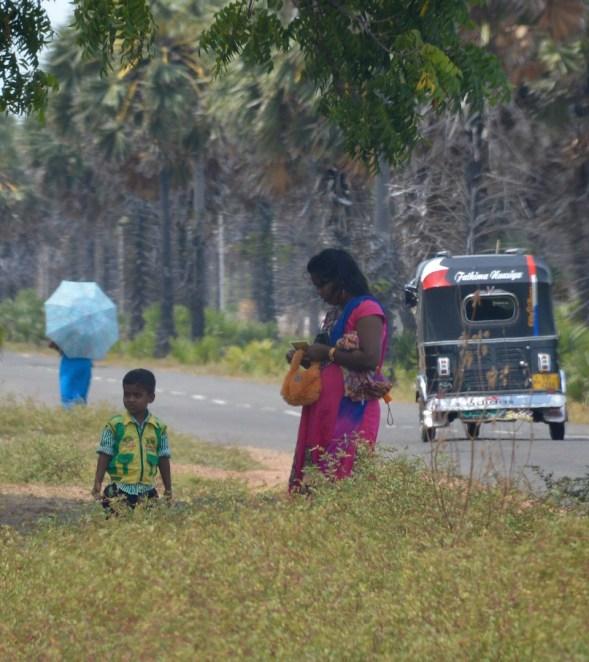 Tuk tuk, umbrella and colour, so Sri lanka...