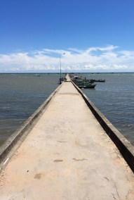 Jetty out at Rach Ham...Phu Quoc, Vietnam...
