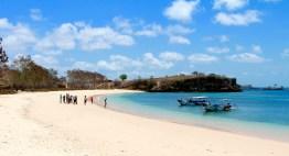 Pink coral beach...