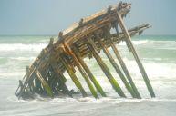 My Masirah wreck under Indian ocean onslaught...July 2014
