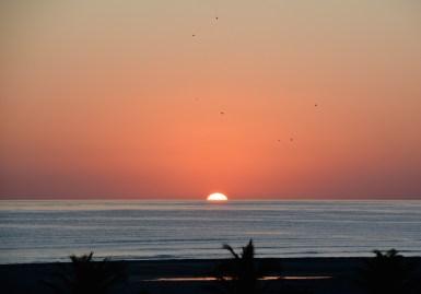 Sun coming up, Masirah,December 2015...