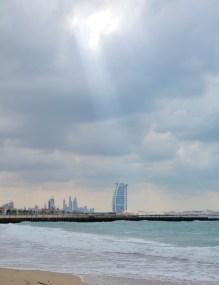 Dubai winter beach...