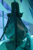 Original pointed end dhow...