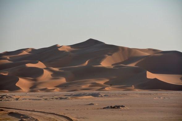 Before sunset, in the desert..shadows creating neutrality...