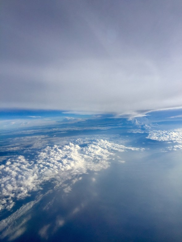 There is something otherworldly about being in the sky....