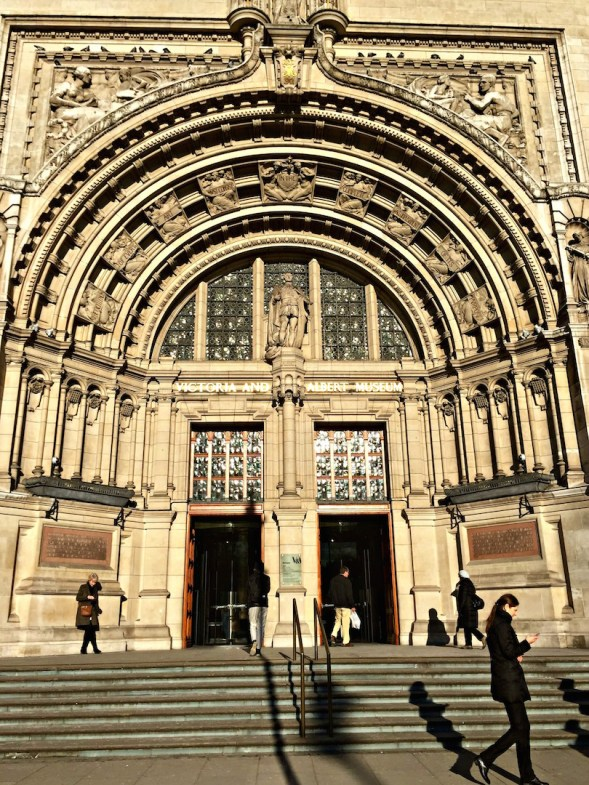 The main entrance, the Victorians certainly went for grandeur....