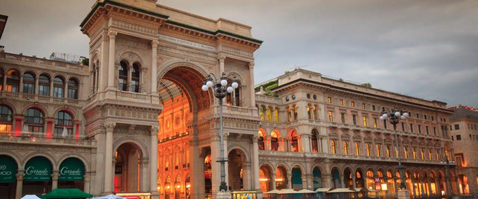 Mediolan. Galeria Wiktora Emanuela II