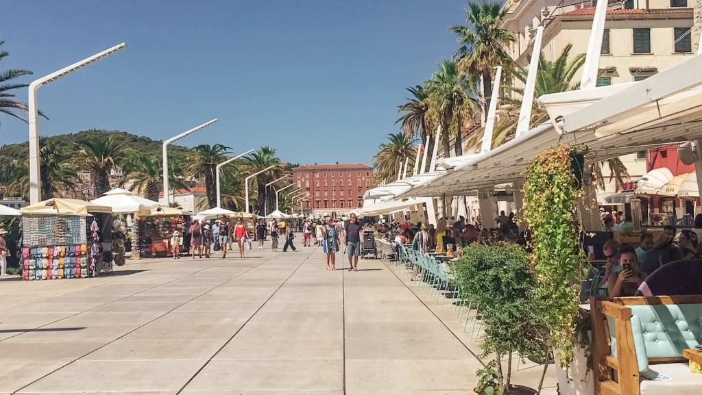 promenade split croatie