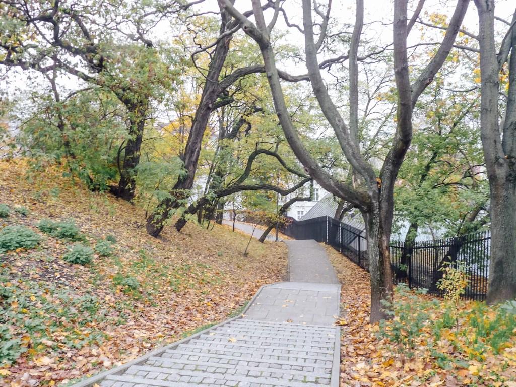 parc lazienski varsovie