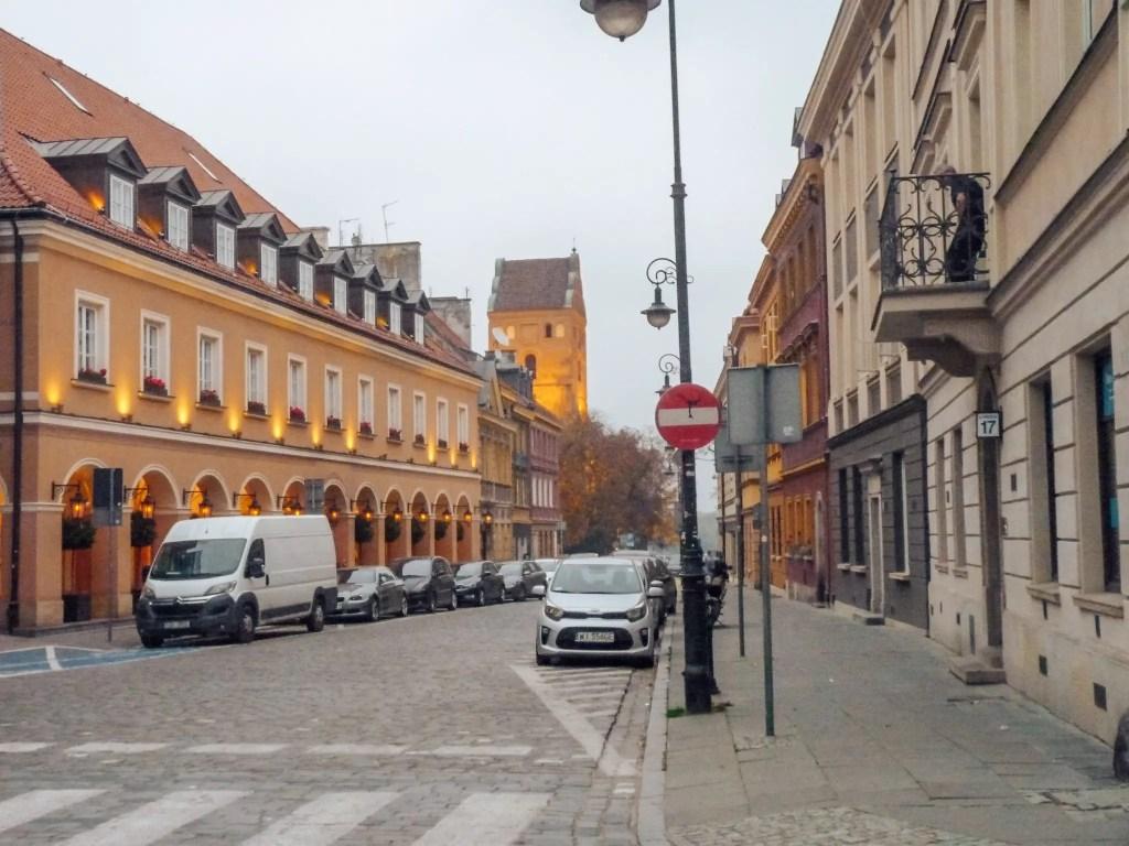 vieille ville varsovie pologne