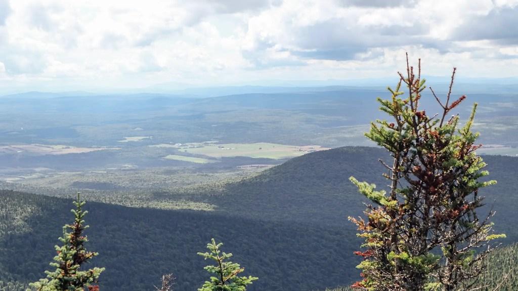 point de vue parc du mont mégantic