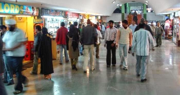 Palika Bazzar Market Delhi