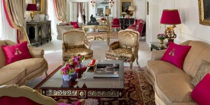 Royal Suite at the Hotel Plaza Athene