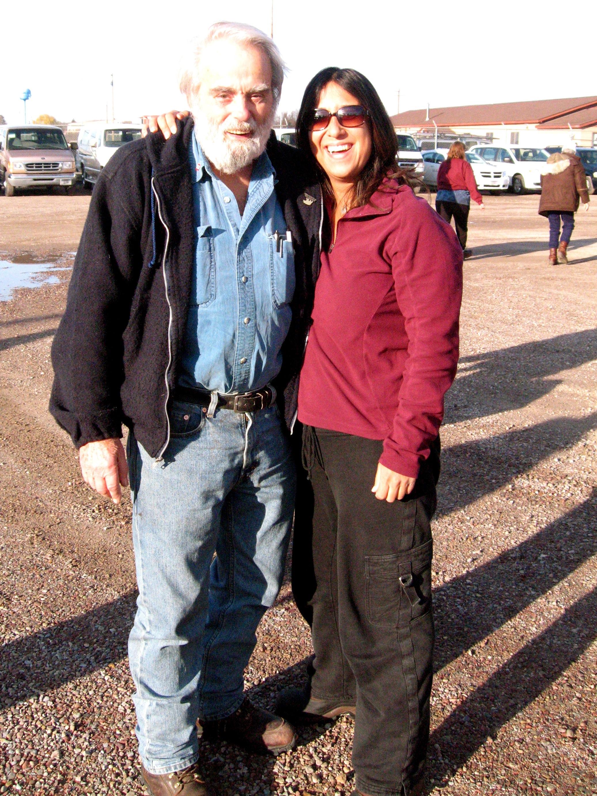 Dr. Charles Jonkel and Me, Missoula Montana Nov 18