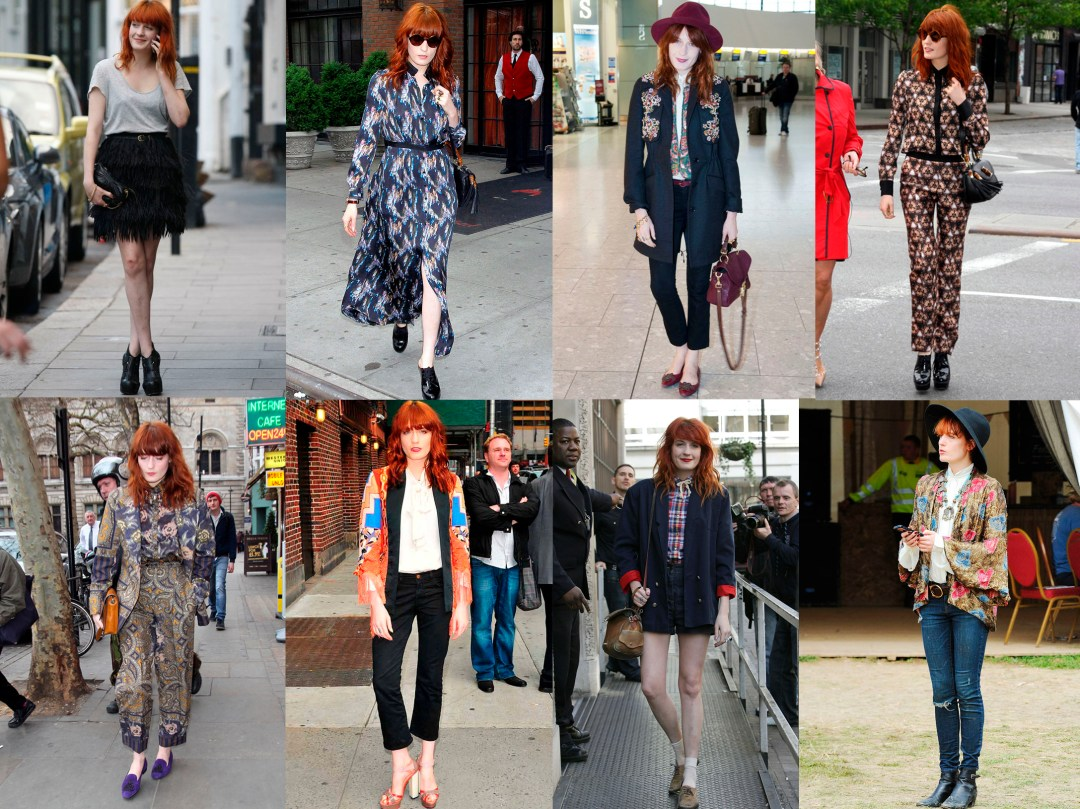 Florence Welch Street Style