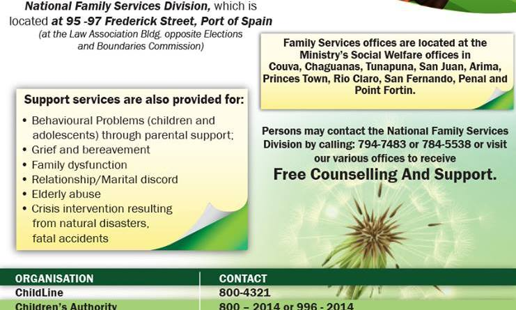 Ministry of Social Development and Family Services