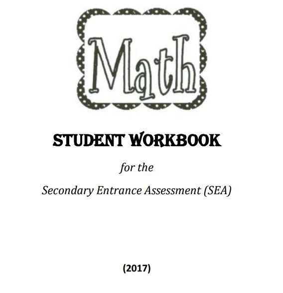 SEA Mathematics Worksheet 2017