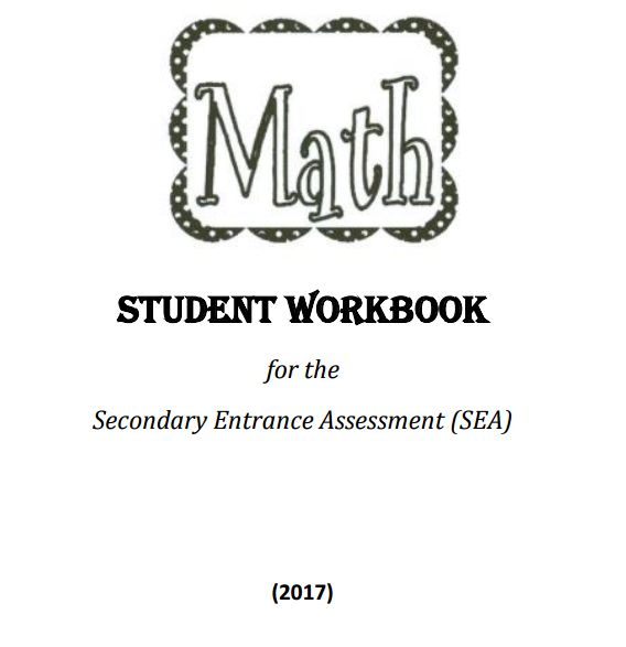 SEA Mathematics Worksheet 2017