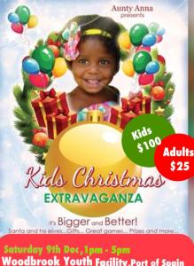 Aunty Anna's Kids Christmas treat @ Woodbrook Youth Facilities | Port of Spain | Port of Spain | Trinidad and Tobago