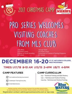 Pro Series Football Camp