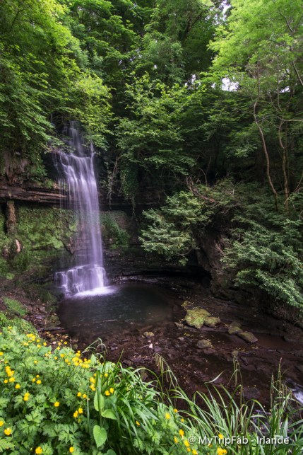 La cascade de Glencar