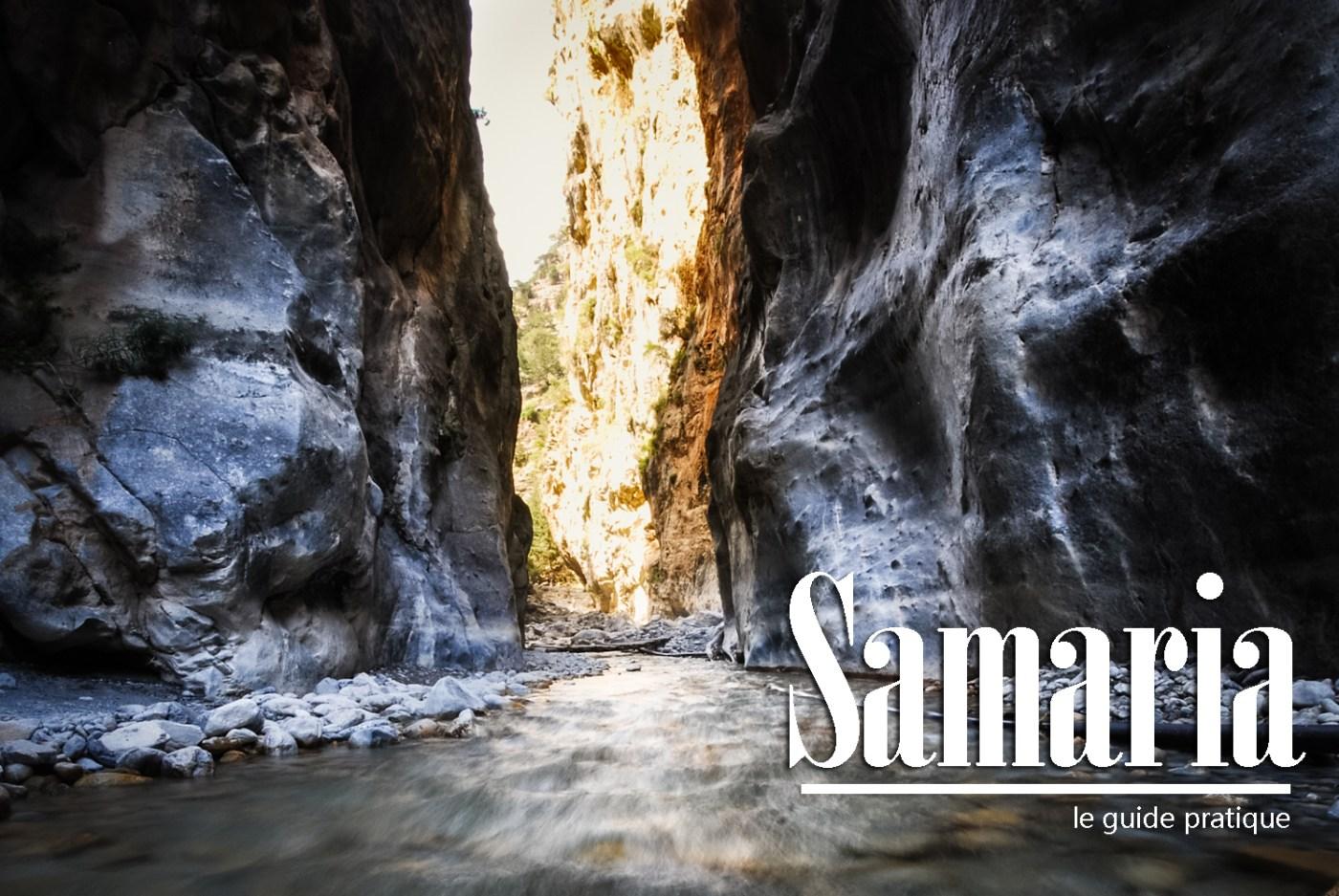 Carte Crete Gorges De Samaria.Crete Randonnee Dans Les Gorges De Samaria Guide