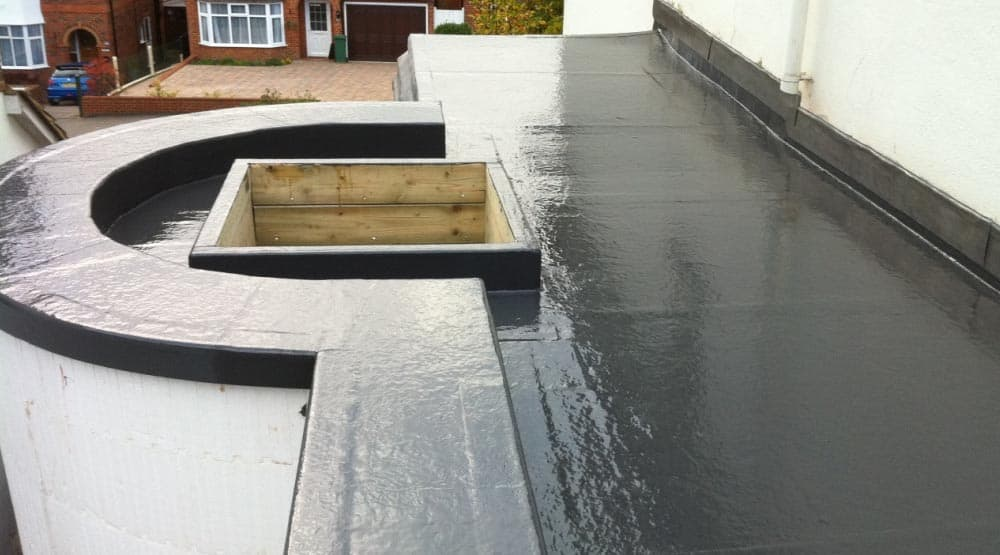 Domestic flat roof Crawley