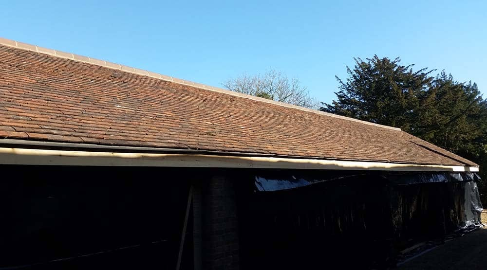 Roof cladding East Grinstead
