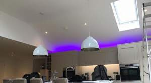 install indoor and outdoor lighting installation