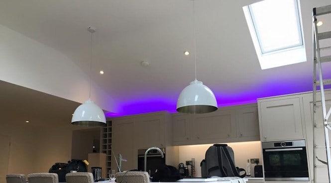 install lights