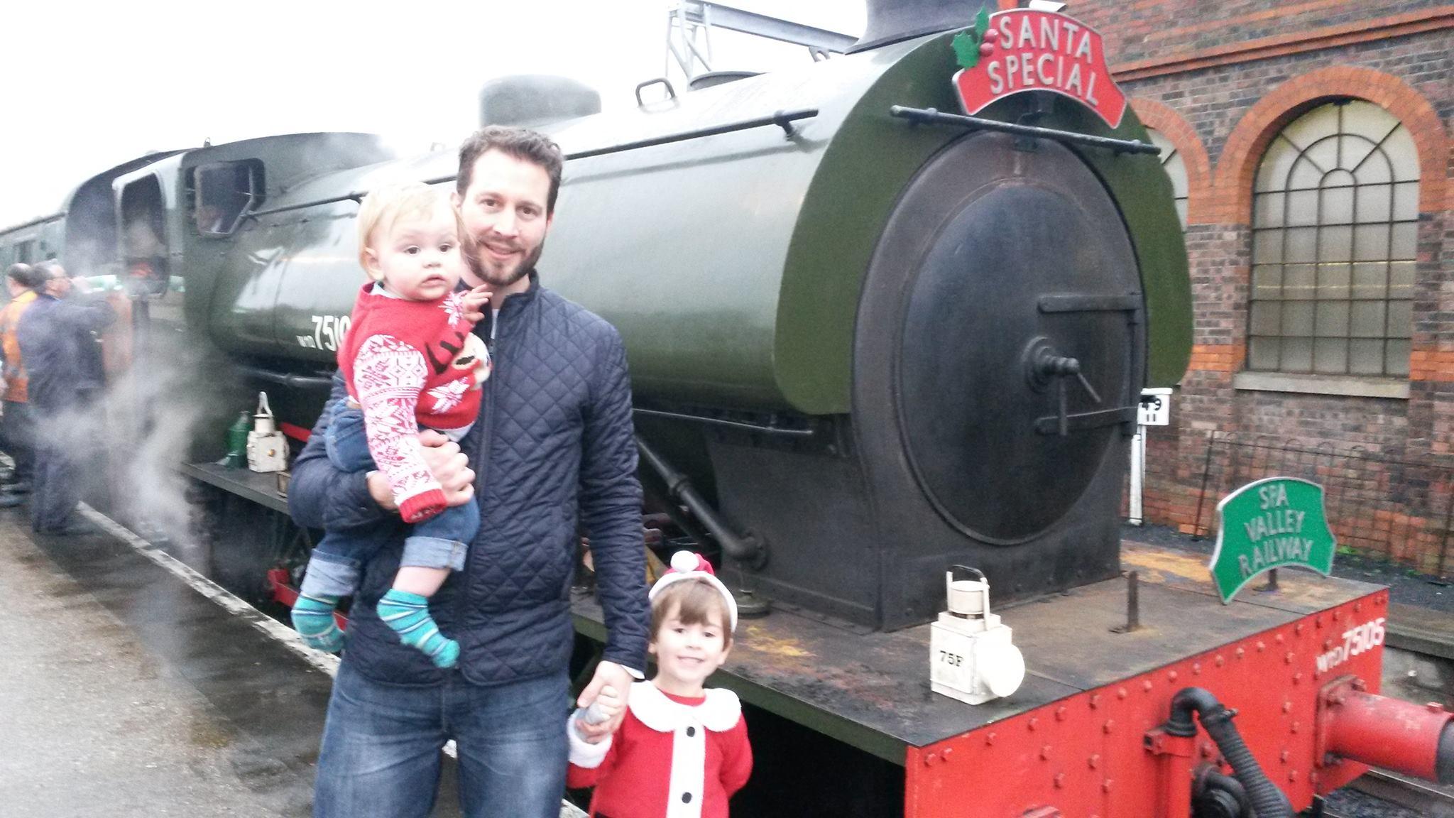 Spa Valley Railway's Santa Specials
