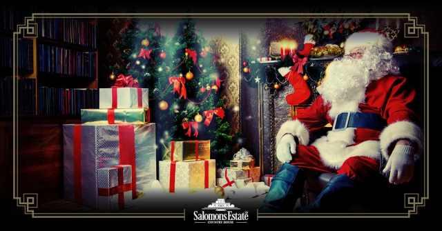 Santa is on his way to Salomons Estate 2