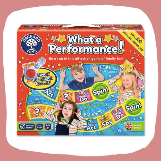 best family games_What a performance