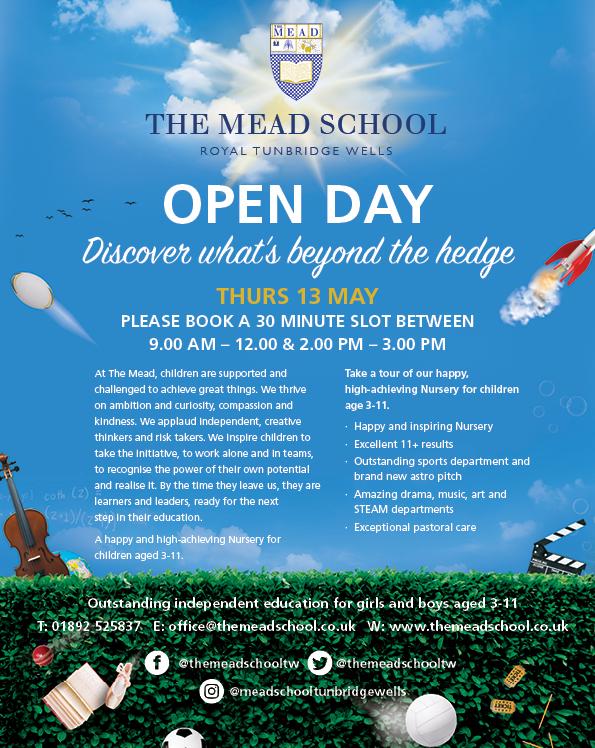 The Mead School Open Day Tunbridge Wells