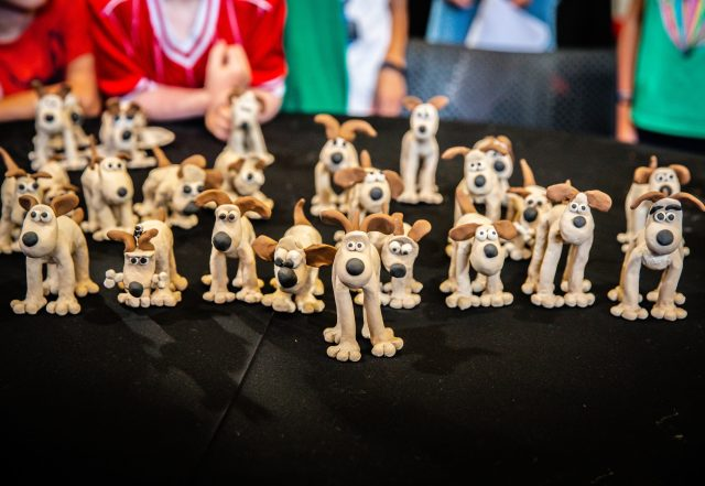 Aardman workshop at Tunbridge Wells Puppetry Festival