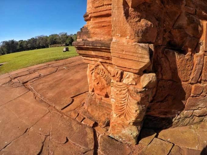 ruin carvings