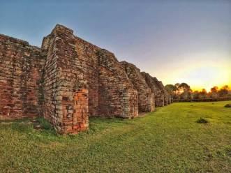 sunset-in-trinidad-ruins
