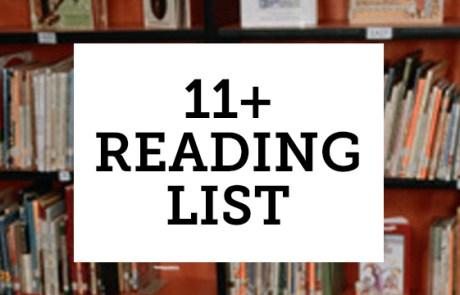 11_plus_reading_list