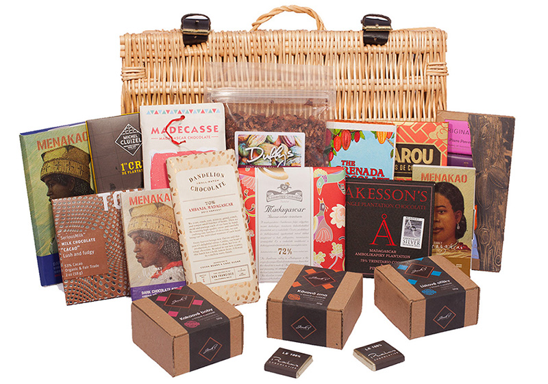 An image of the Artisan Hamper that is the prize for the My Tutor Club competition
