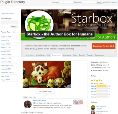 How to Build Your Personal Branding Using WordPress Starbox the Author Box for Humans