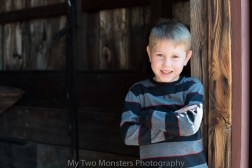 Feb 29 A quick portrait in an old barn in Old Alabama Town