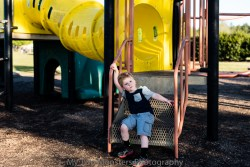 April 5 His favorite playground.