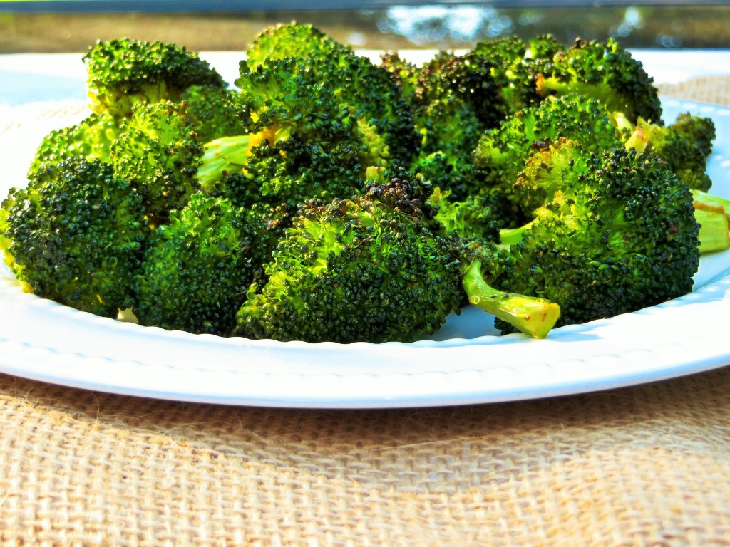 Chipotle Butter Roasted Broccoli